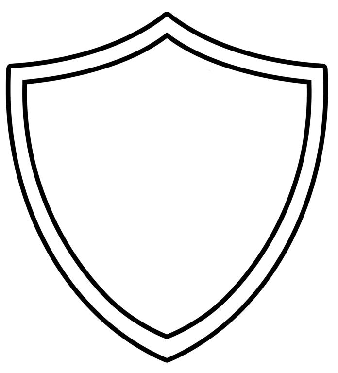 Pendent clipart blank Shield Clipart Download Clip Outline