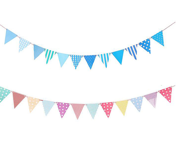 Pendent clipart blue flag Garland blue  Popular from
