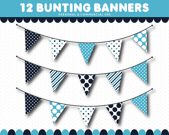 Pendent clipart blue flag Pennant is  bunting a