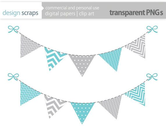 Pendent clipart blue flag Designscraps bunting about more images