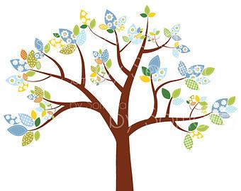 Pendent clipart boho bird Baby Cute clip tree Baby