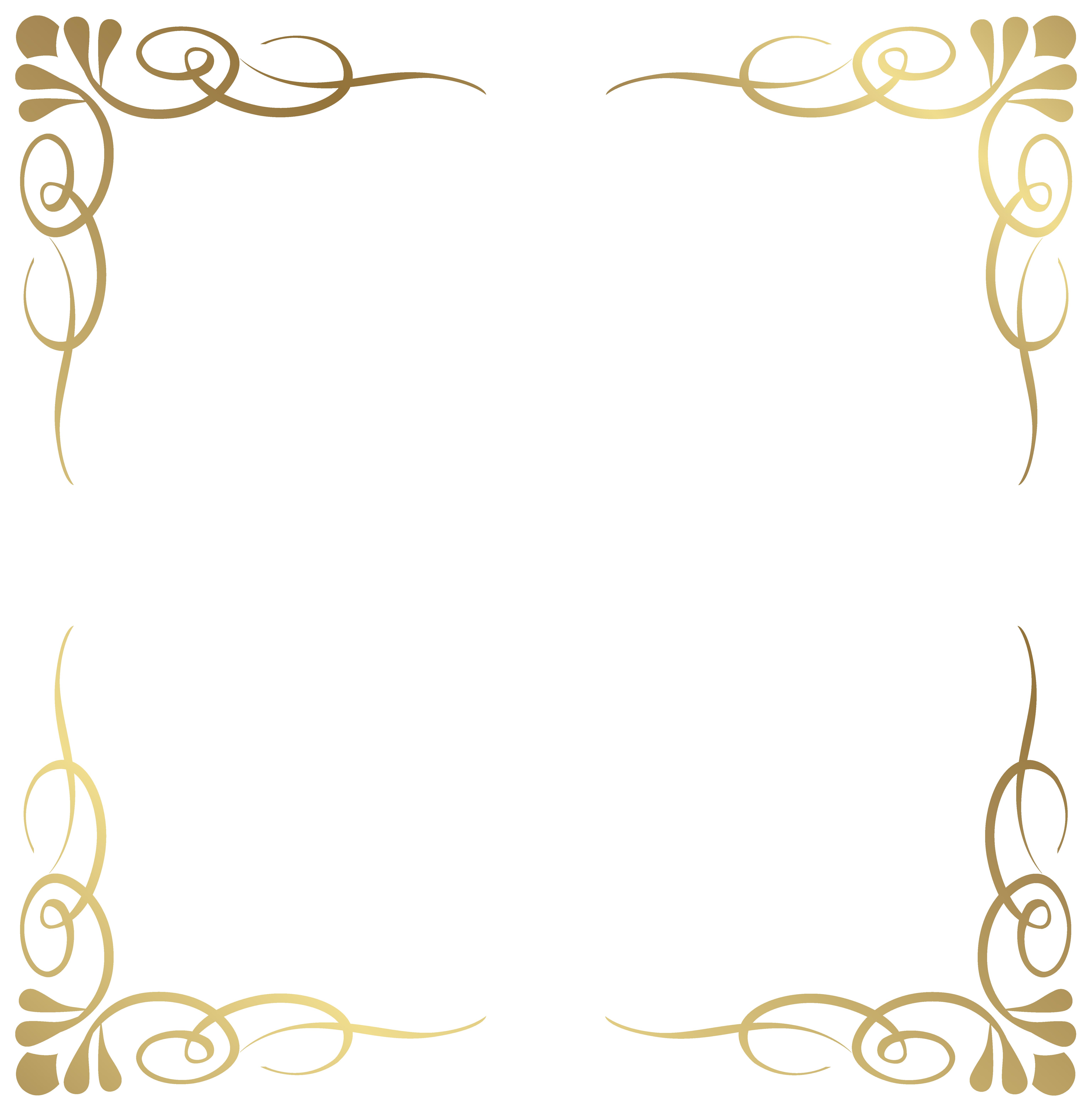 Pendent clipart border Decorative Transparent Image Frame Border