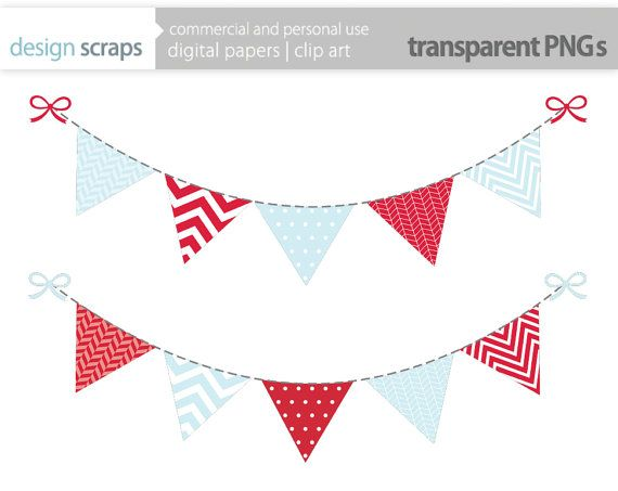 Carnival clipart flag banner Art polka banner 23 use