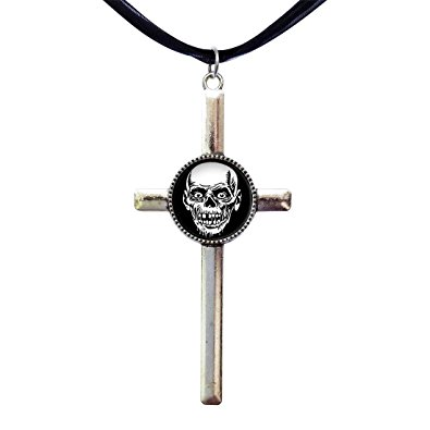Pendent clipart charm Retro scary Pendant skull Amazon
