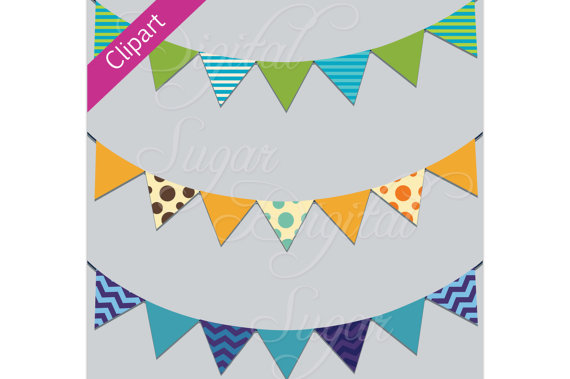 Pendent clipart chevron banner Bunting Chevron Banner Png Clip
