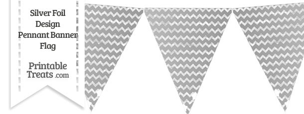 Pendent clipart chevron banner Flag Pennant Grey from Yellow