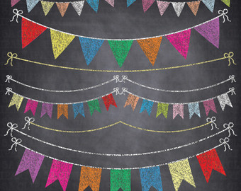 Color clipart banner Clipart Chalkboard Clipart