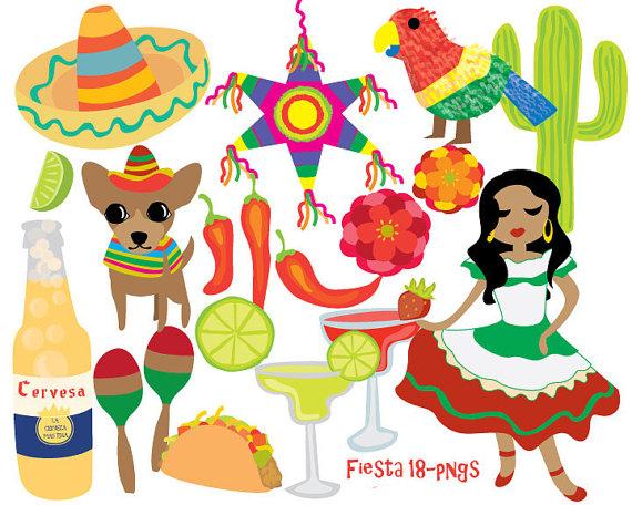 Pendent clipart fiesta Cinco Art de Fiesta art
