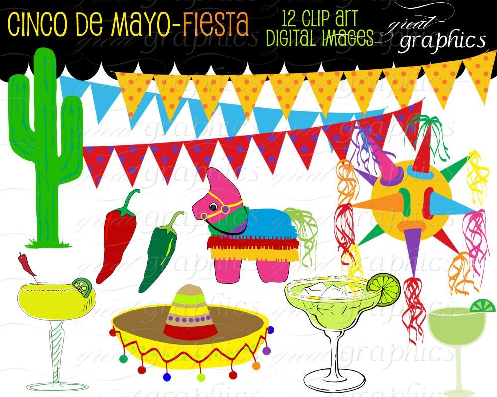 Taco clipart fiesta Mayo Fiesta Party Clipart Clip