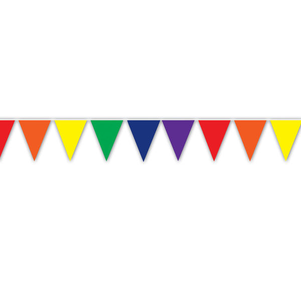 Birthday clipart pennant Of rainbow Clipart photos banner