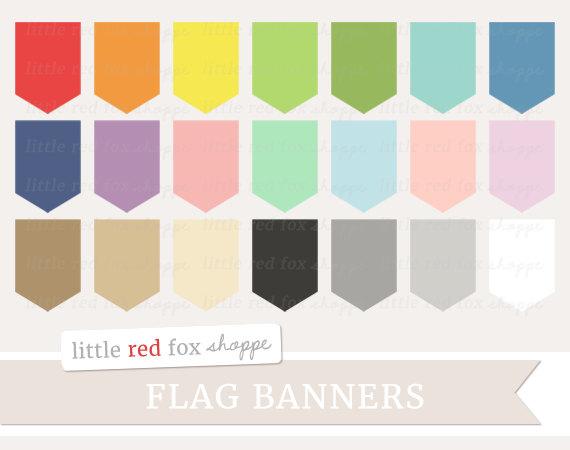 Pendent clipart flag banner Flag Clip Banner Clip Art