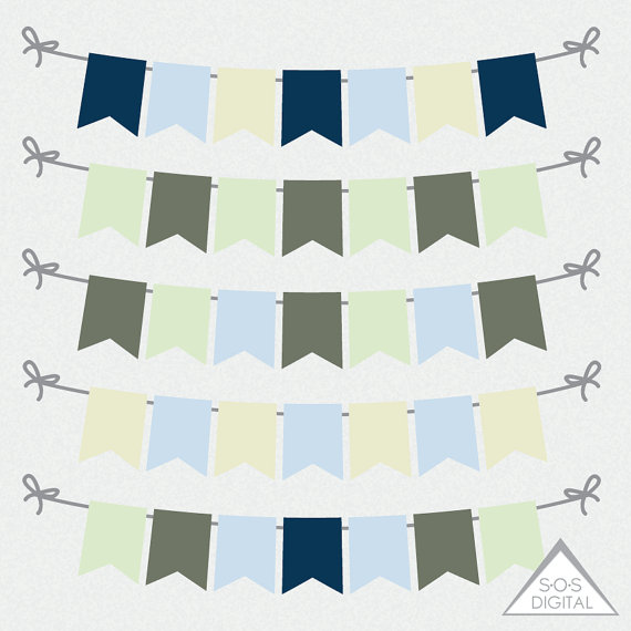 Pendent clipart flag banner Banners Blue Banners Scrapbooking Banners