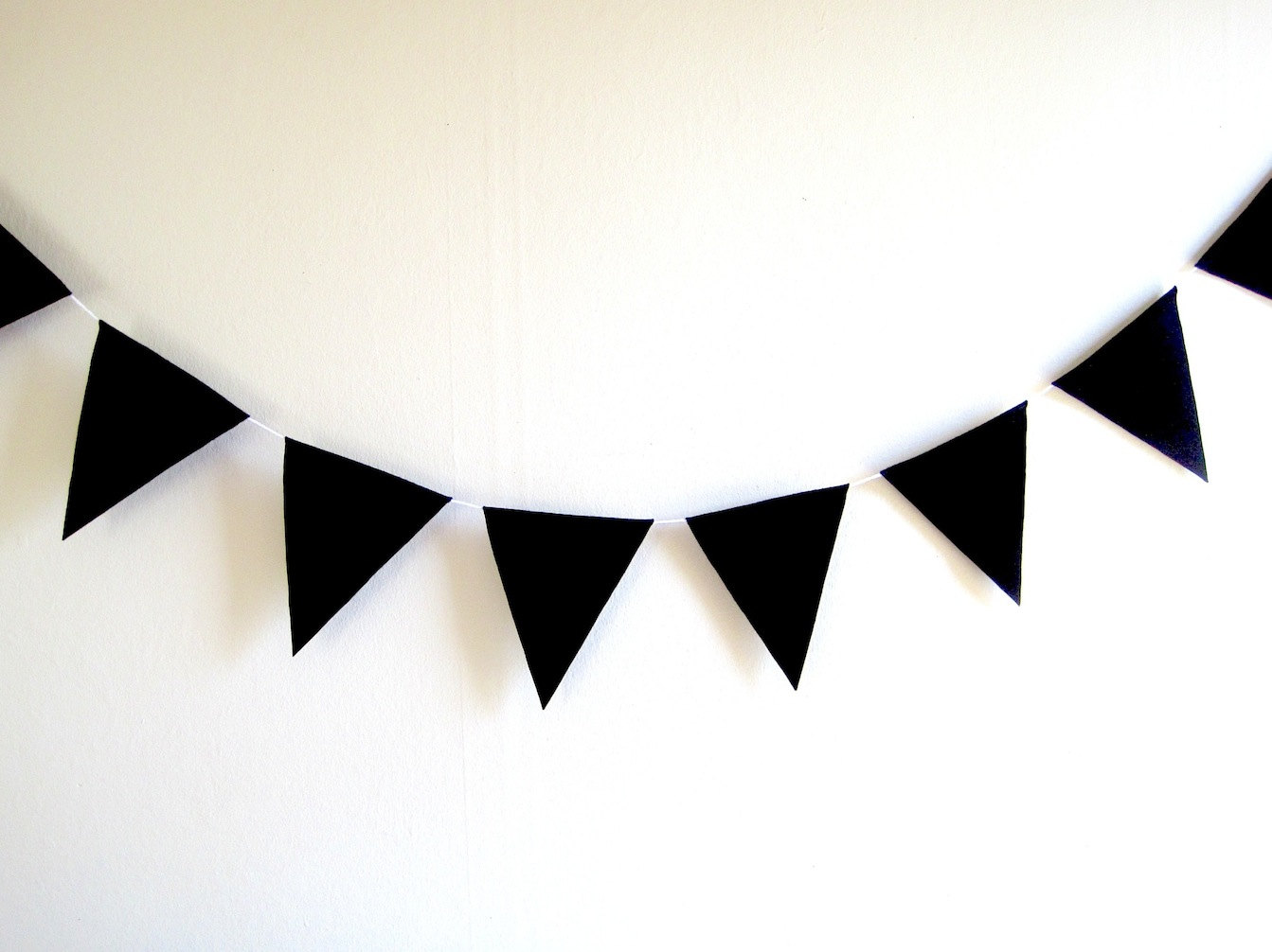 White clipart pennant banner  Art Triangle Clipart Triangle