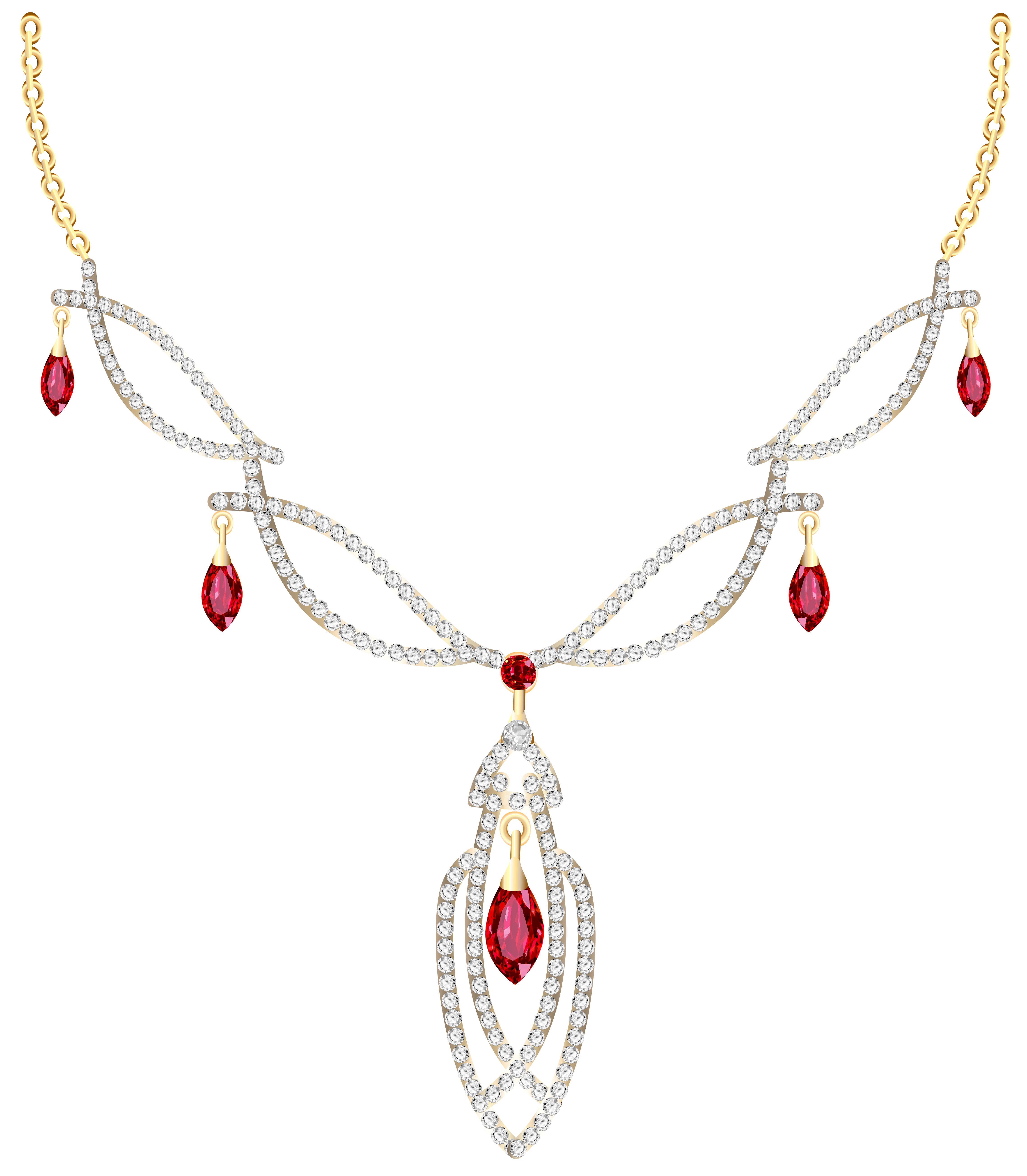 Pendent clipart jewelry Size full View Golden PNG