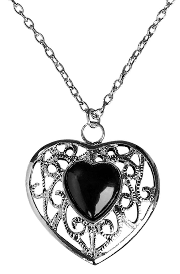 Pendent clipart jewelry Clipart Necklace Heart Black Zone