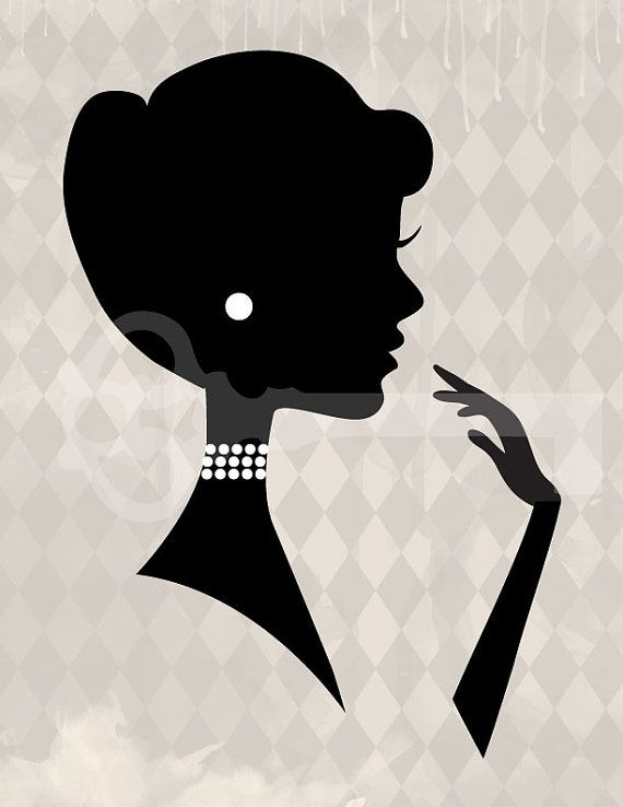 Classy clipart women's Images Silhouette Woman on about