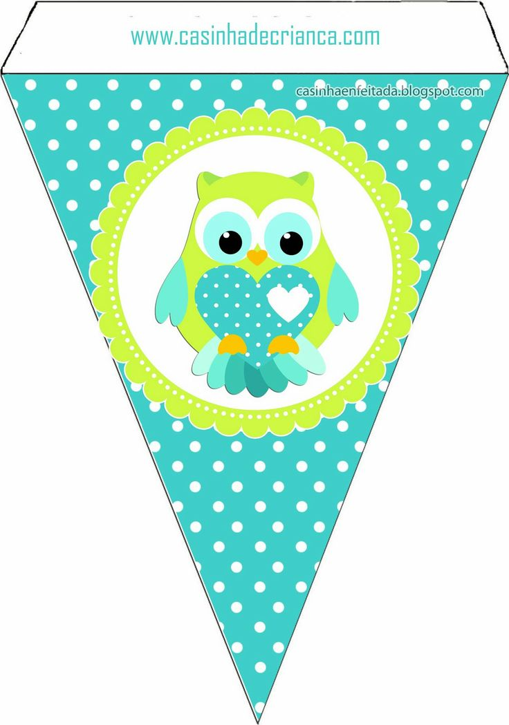 Owl clipart bunting 25+ Para Pinterest Best ideas