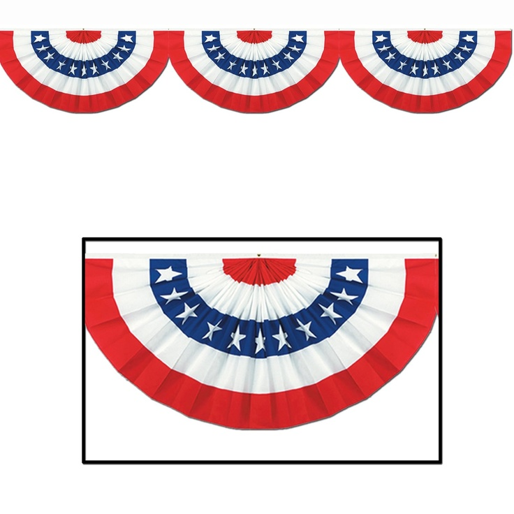 Pendent clipart patriotic banner Bunting Bunting infographic Includes Logos
