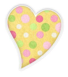 Pendent clipart polka dot Clipart hearts Яндекс Gold Фотках