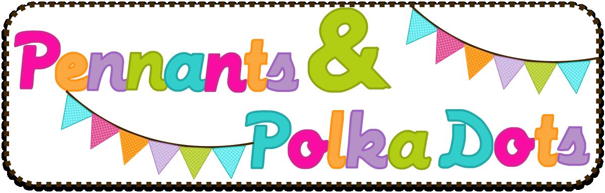 Pendent clipart polka dot Panda Free Pennant 20clipart Images