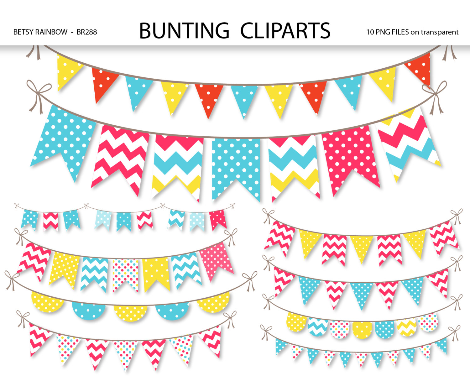 Bunting clipart triangle banner Art clip banner Bunting this