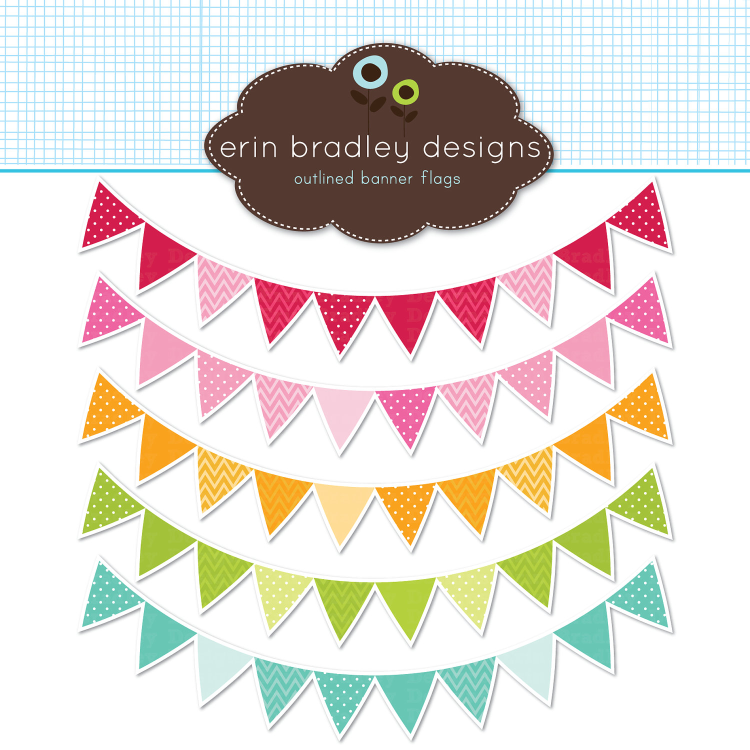 Bunting clipart triangle banner Clipart Flags 00 Clip &