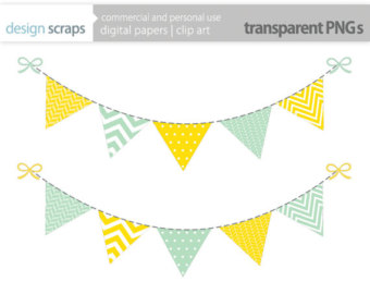 Bunting clipart triangle banner On Art Clip Free Art