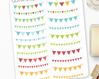 Pendent clipart triangle thing Happy Stickers for Banner Condren
