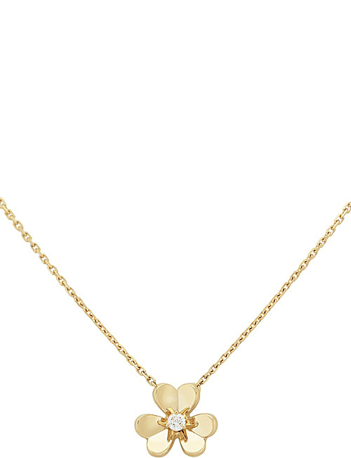 Pendent clipart van cleef and arpel ARPELS diamond and gold Frivole