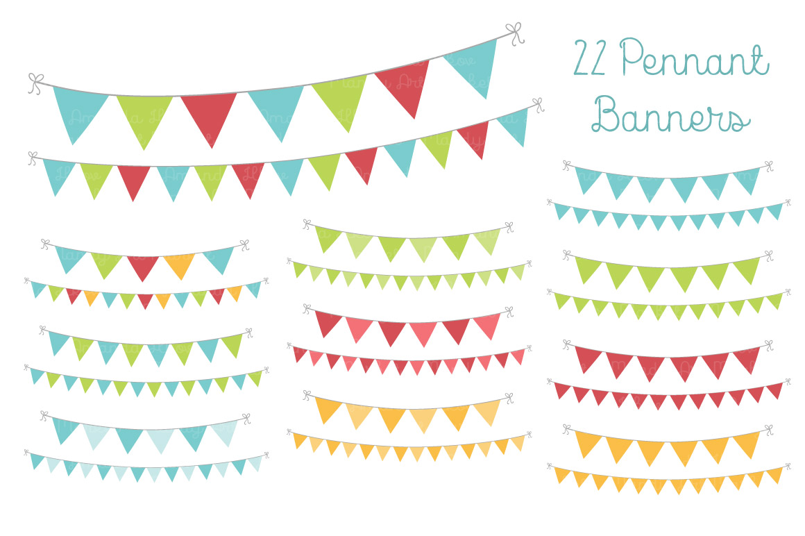 Pendent clipart weekend banner Of great Bunting Banner these