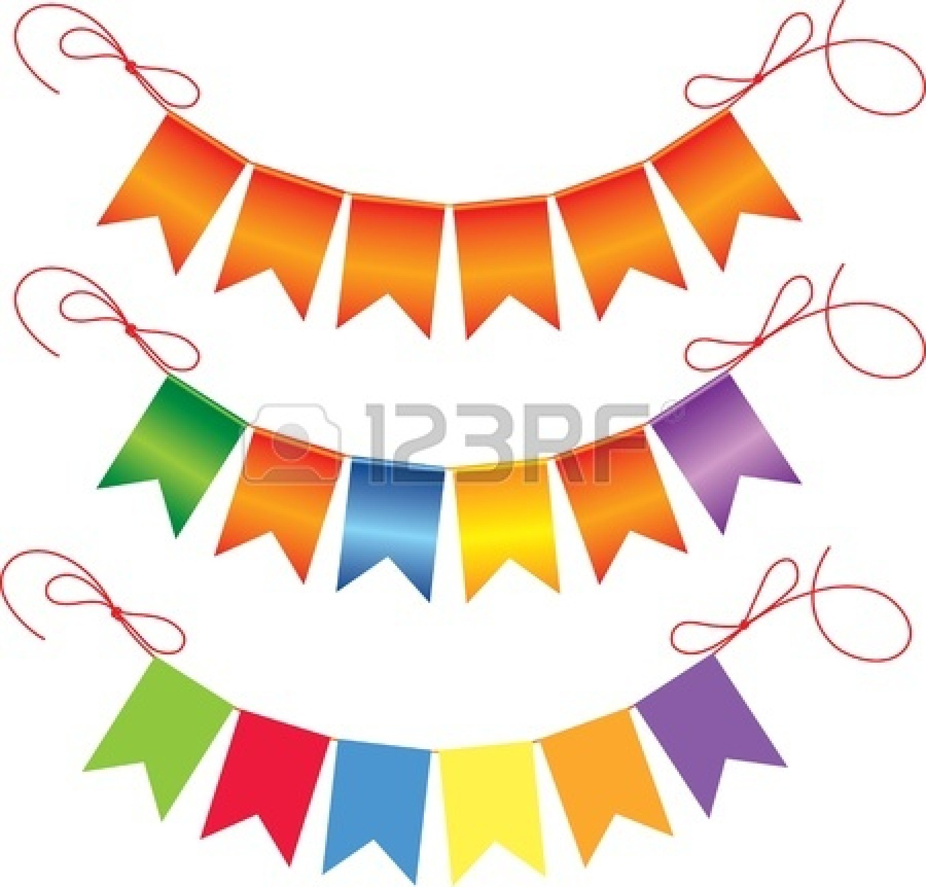 Pendent clipart weekend banner Images Clipart Triangle Vector Free