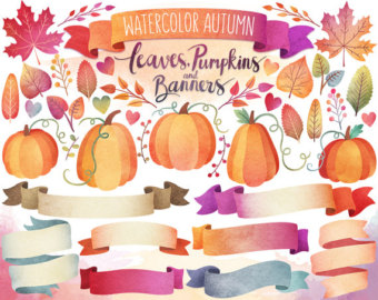 Pendent clipart weekend banner Banners Autumn Etsy Clipart Clipart