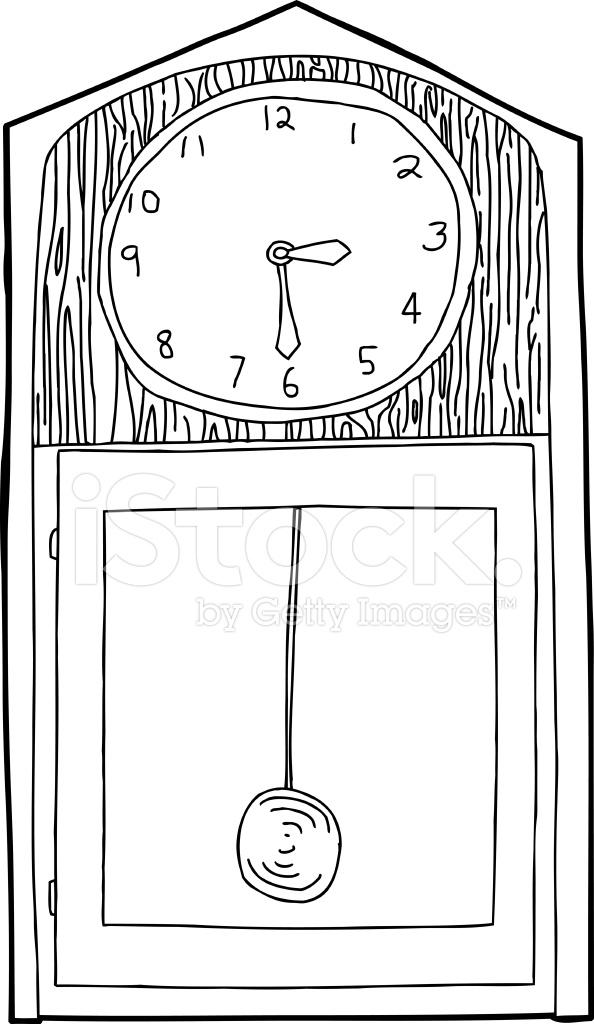 Clock – Black Download Art