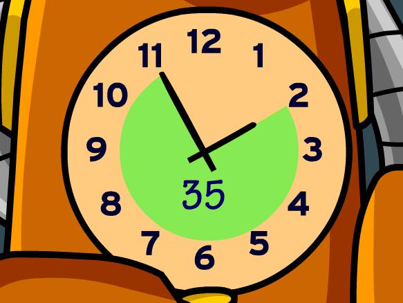 Pendulum clipart elapsed time #3