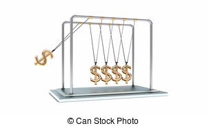 Pendulum clipart gold Search newton dollars csp14757329 of