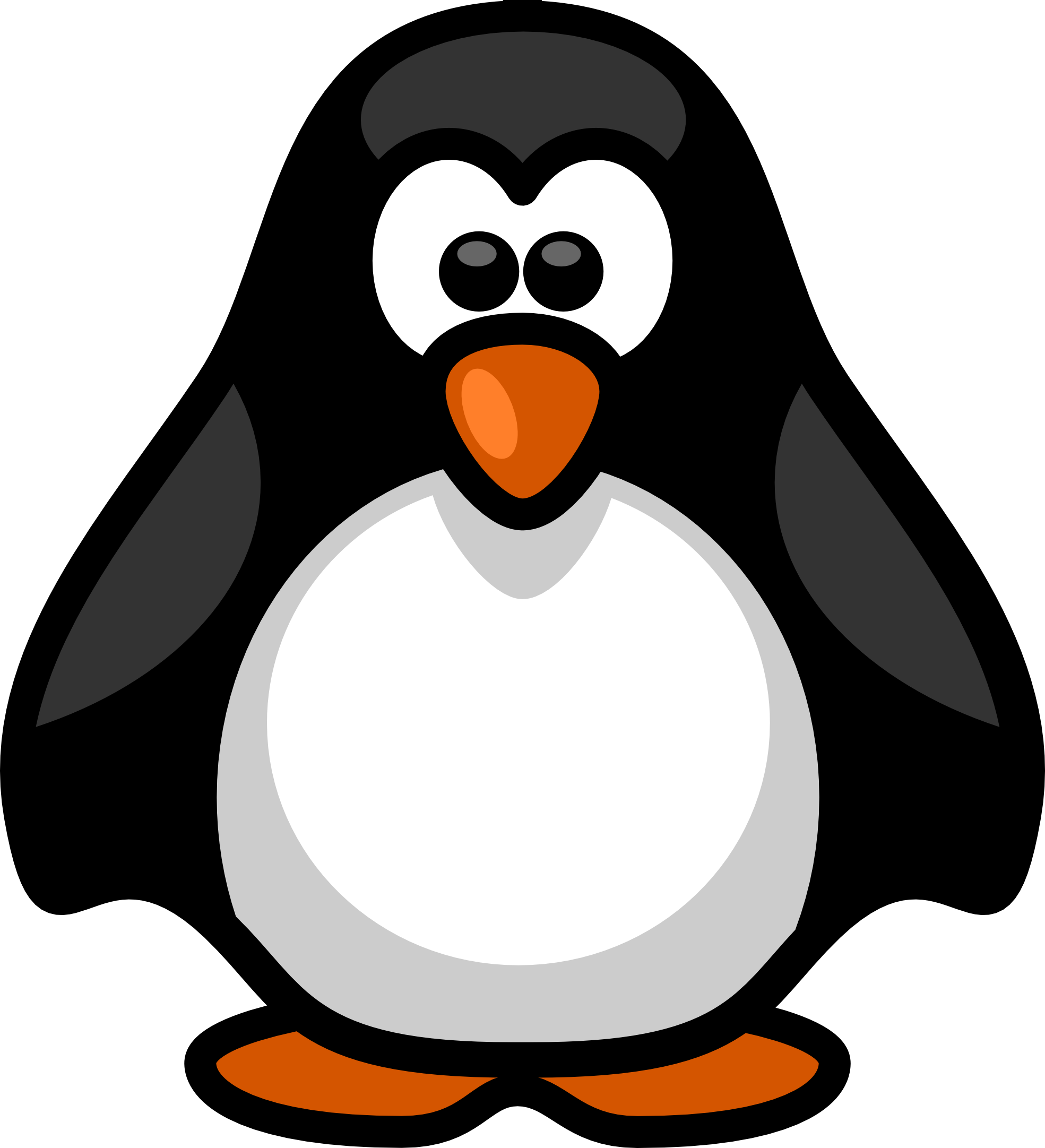 Penguin clipart banner Free Clipart Clipart Printable Free
