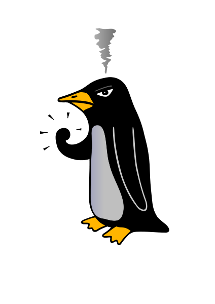 Penguin clipart angry Penguin mrforder on Newgrounds Angry