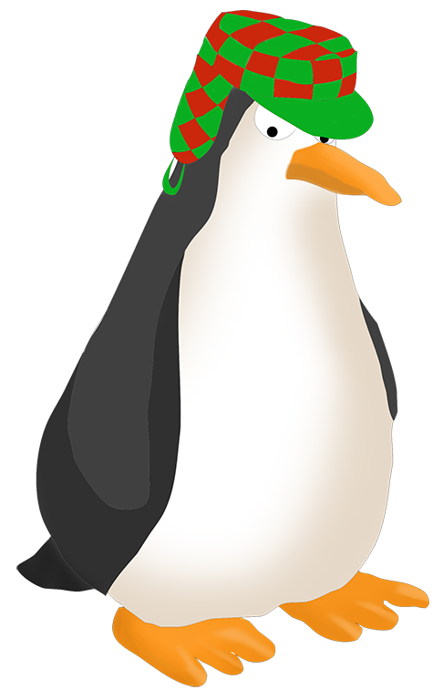 Penguin clipart angry With penguin drawing Funny penguin