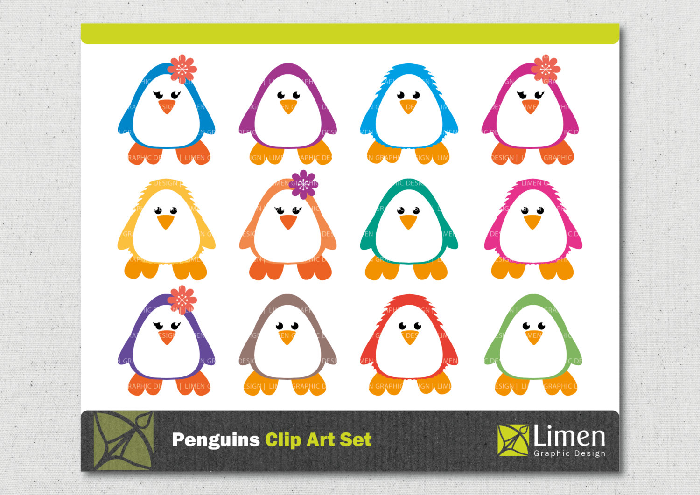 Penguin clipart circus Digital This Penguin Winter Penguin