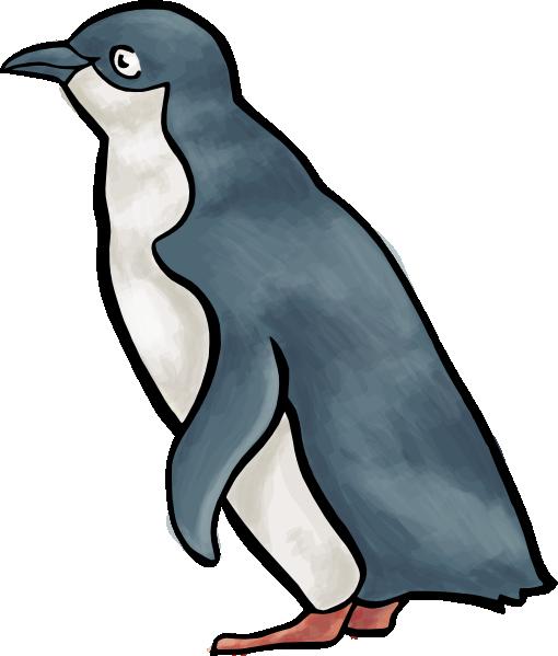 Penguin clipart comic Vector  Art image clip