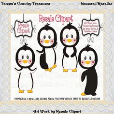 Penguin clipart country American #Clipart Graphics · Cute