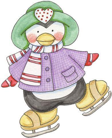 Penguin clipart country Penquins Winter Pinterest on images