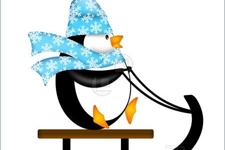 Penguin clipart drinking Cocoa Winter Hat UK With