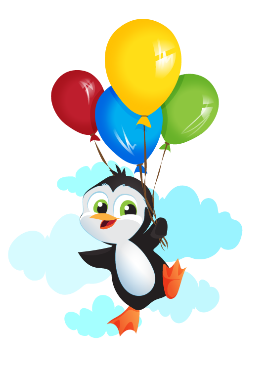 Balloon clipart penguin Personal on clip with this