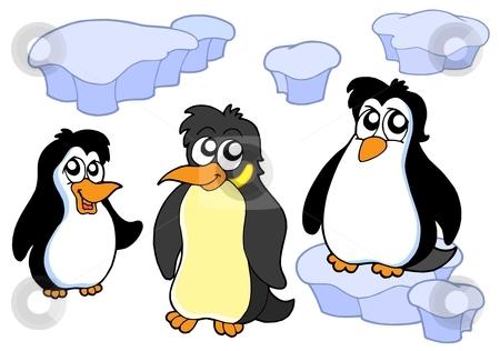Penguin clipart iceberg clipart Penguin collection Penguins Clipart On