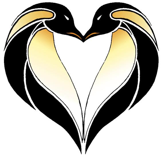 Penguin clipart kiss World 573 Pinterest  best