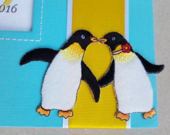 Penguin clipart kiss Etsy Set Turquoise Sign Penguins