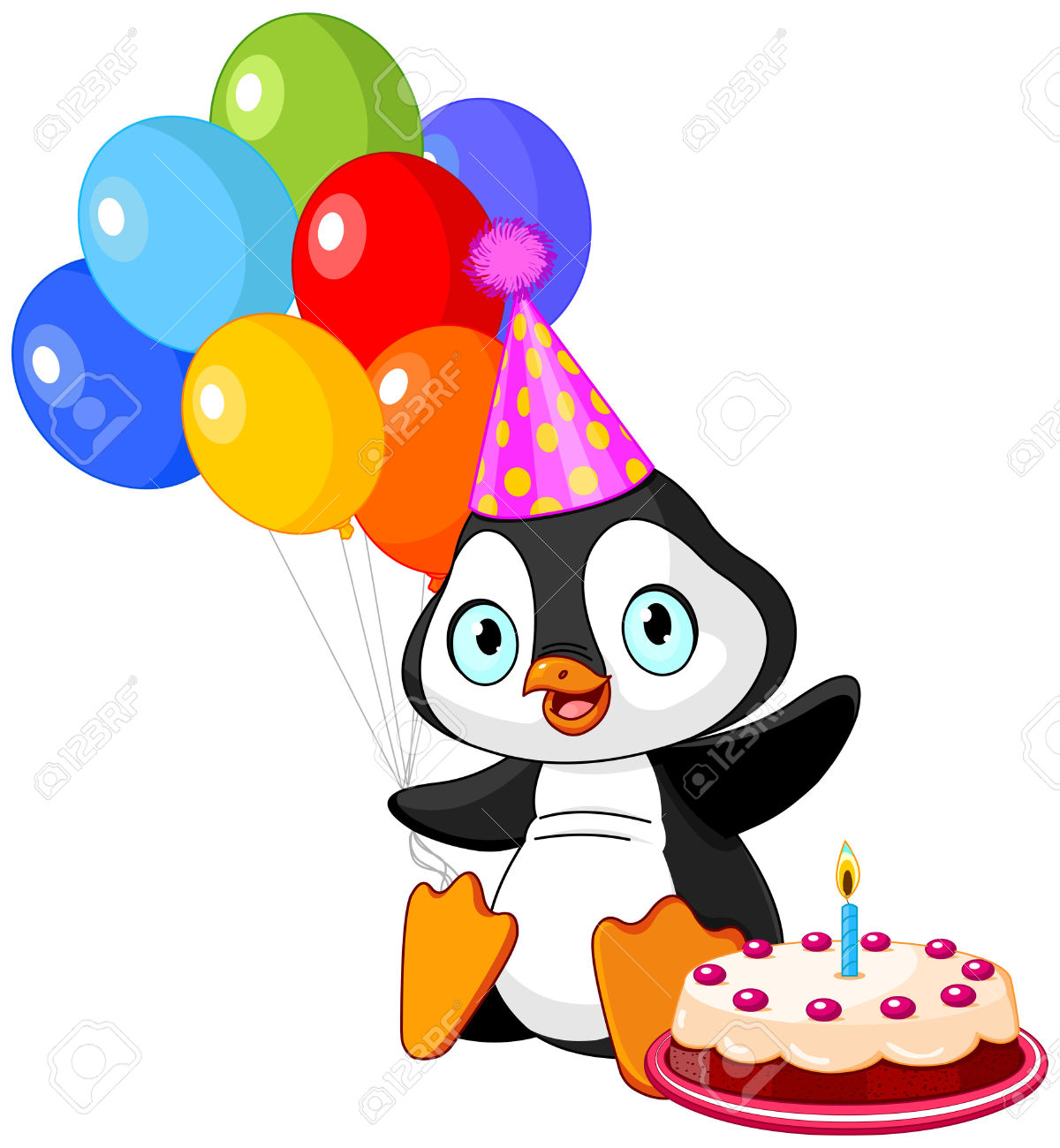 Balloon clipart penguin With for penguin penguin clipart