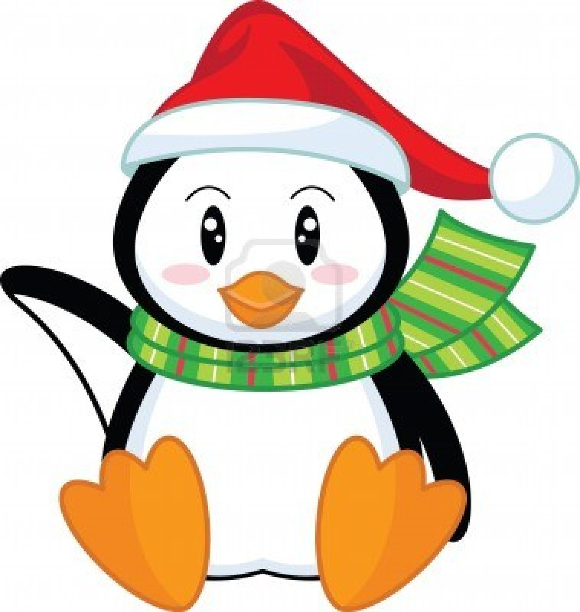 Penguin clipart one Holiday Penguin Clipart Clipart Washer