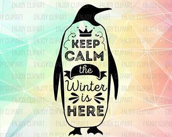 Penguin clipart peguin Keep Etsy Calm Calm Keep